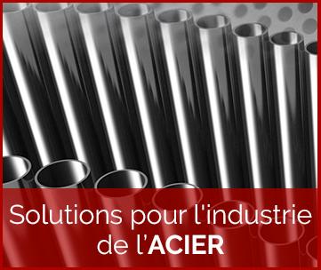 Solutions pour l'industrie de l'acier