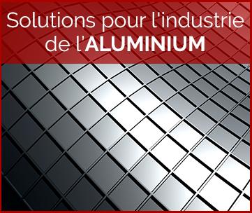 Solutions pour l'industrie de l'aluminium