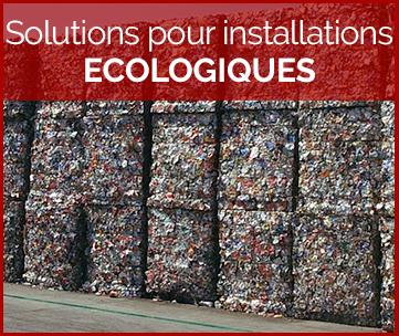 Solutions pour installations ecologiques